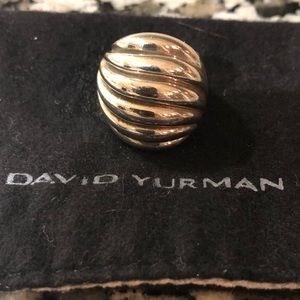 David Yurman Scallop Statement Ring
